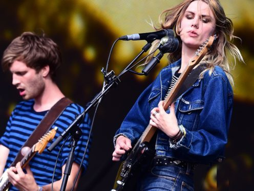 Joff Oddie and Ellie Rowsell of Wolf Alice, who will perform after the Q Awards (Ian West/PA)