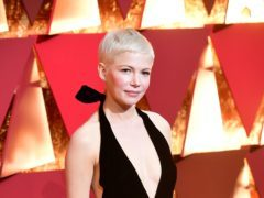 Michelle Williams has revealed she has secretly married Phil Elverum (Ian West/PA)