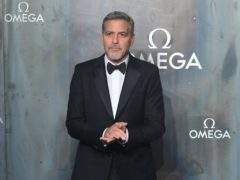 George Clooney is recovering after a scooter accident (Ian West/PA)
