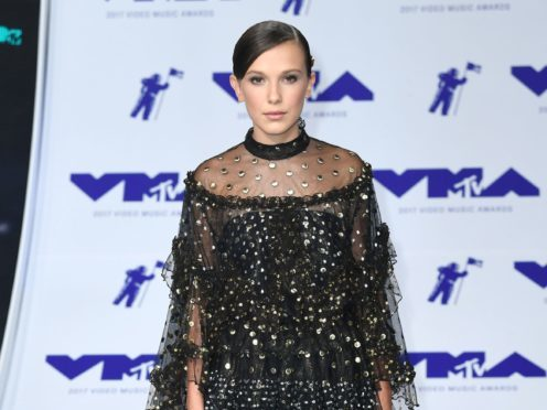 Millie Bobby Brown is among the stars to celebrate after receiving an Emmy Award nomination (PA Wire/PA Images)