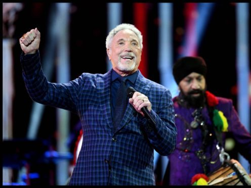 Sir Tom Jones is in hospital for bacterical infection (Andrew Parsons/Sunday Times/PA)