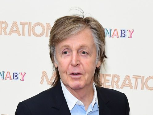 Paul McCartney held a Q and A at the Liverpool Institute of Performing Arts (Ian West/PA)