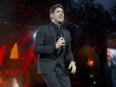 Michael Buble took time out from his career when his son was diagnosed with cancer (Isabel Infantes/PA)