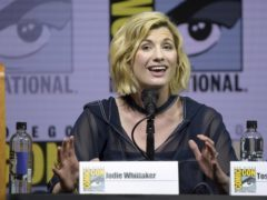 Jodie Whittaker's Doctor Who was introduced with a trailer during a panel at Comic-Con (Richard Shotwell/Invision/AP)