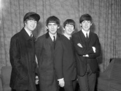 John, Paul and George recorded at Percy Phillips' Sound Recording Services in Liverpool (PA Archive/PA)