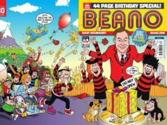 David Walliams was guest editor of the Beano's 80th birthday edition and appears in character form (Beano Studios/DC Thomson/PA)