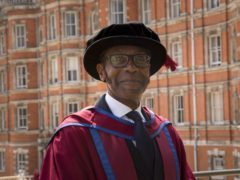 Sir Lenny Henry has graduated with a PhD in Media Arts. (Royal Holloway)