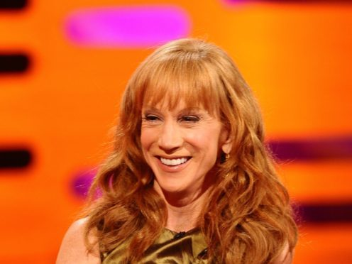 Kathy Griffin criticised Louis CK's appearance at the Comedy Cellar in New York (Ian West/PA)