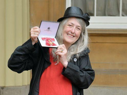 Professor Mary Beard will examine the history of nudes in art (John Stillwell/PA)