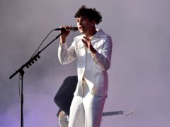 Matthew Healy of The 1975 has opened up about his battle with heroin (Ben Birchall/PA)