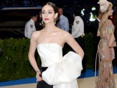 Emmy Rossum hints at exit from US series Shameless in emotional message (Aurore Marechal/PA)