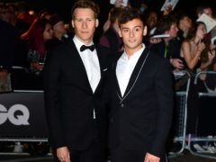 Tom Daley and Dustin Lance Black married last year (Ian West/PA)