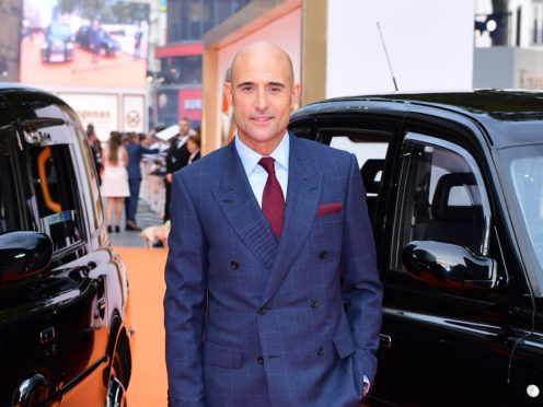 Mark Strong will star in Temple (Ian West/PA)