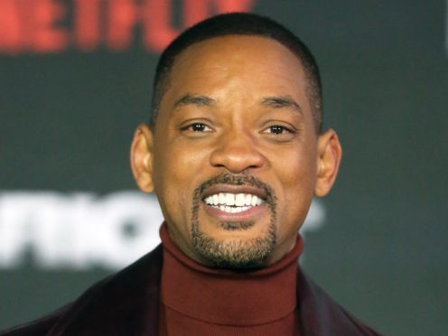 Will Smith took on a new role as a Boots employee (PA/Isabel Infantes)