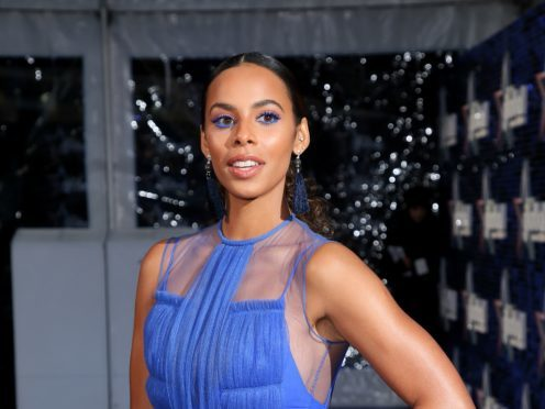 Rochelle Humes said she loves her curls more than ever (Joel Ryan/PA)
