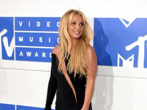 Britney Spears has sent 'love' to her UK fans after performing at Brighton Pride (PA/PA Wire)