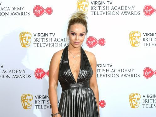 Katie Piper has said she is proud to be on Strictly Come Dancing after an acid attack 10 years ago (Ian West/PA)