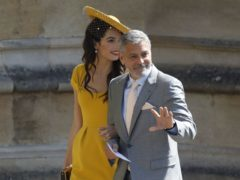 George Clooney has topped Forbes' latest list of the world's highest-paid actors (Odd Andersen/PA)