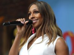 Alexandra Burke described it as 'a privilege' (Tim Whitby/PA)