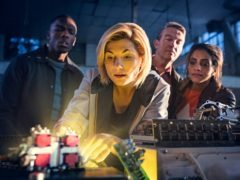 Jodie Whittaker as Doctor Who (Sophie Mutevelian/BBC)