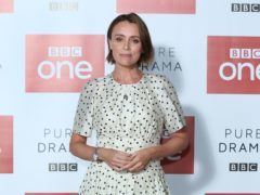 Keeley Hawes said a real protest broke out while filming Bodyguard (Isabel Infantes/PA)