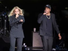 Beyonce and Jay-Z were performing in Atlanta at the time of the incident (Matt Rourke/AP)