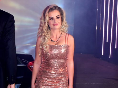 Chloe Ayling will be forced to talk about her written messages with Jermaine Pennant after the housemates are punished on Celebrity Big Brother. (Ian West/PA)