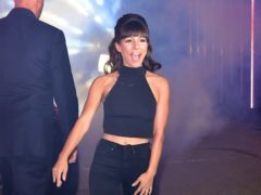 Roxanne Pallett enters the Celebrity Big Brother house (Ian West/PA)