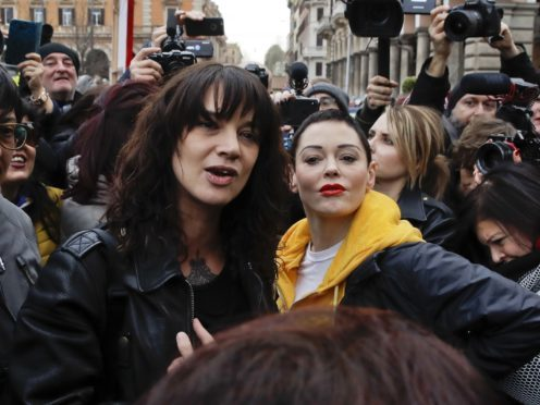 Rose McGowan has released a statement in the wake of sexual assault allegations against Asia Argento (AP Photo/Alessandra Tarantino, File)