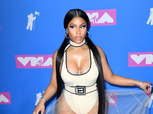 Nicki Minaj announced the collaboration on Twitter (PA)