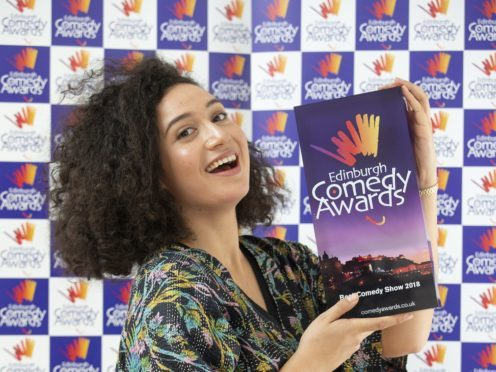Comedian Rose Matafeo won the prize for best comedy show at the Edinburgh Fringe (Jane Barlow/PA)