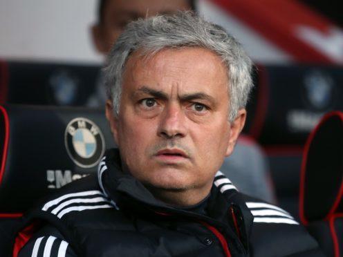 Manchester United manager Jose Mourinho – (Adam Davy/PA)