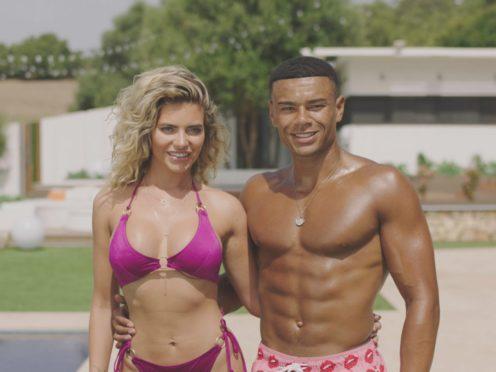 Love Island's Wes Nelson and Megan Barton Hanson (ITV)