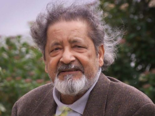 British author V.S. Naipaul, who has died at his home in London aged 85, his family said in a statement (Chris Ison/PA)