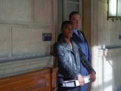 Michaela Coel and John Goodman in Black Earth Rising (Des Willie/BBC)
