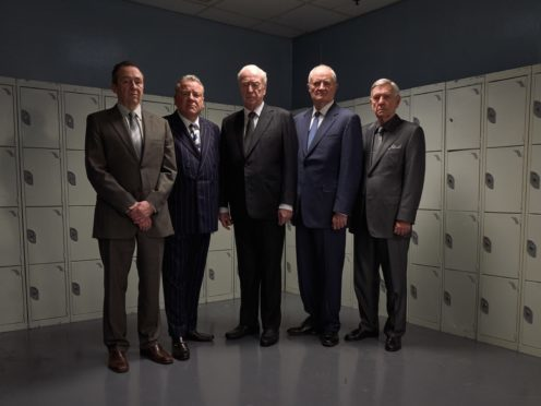 Sir Michael Caine swears a lot in the trailer for the Hatton Garden heist film (StudioCanal)