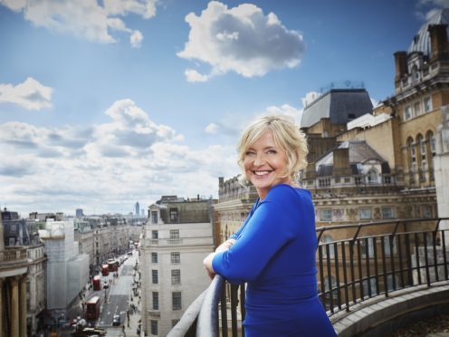 Carol Kirkwood has spoken of her love of presenting the weather (Radio Times/PA)