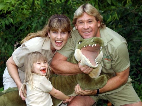 Steve Irwin's daughter Bindi paid tribute to the Australian wildlife expert on the 12th anniversary of his death (Myung Jung Kim/PA)