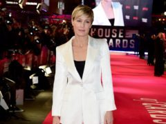 Robin Wright reprises her role in the final series of the Netflix programme (Ian West/PA)
