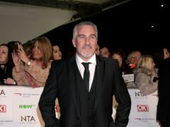 Bake Off judge Paul Hollywood joked after giving two handshakes (Yui Mok/PA)