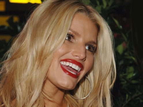 Jessica Simpson revealed she and husband Eric Johnson will welcome a daughter (Ian West/PA)