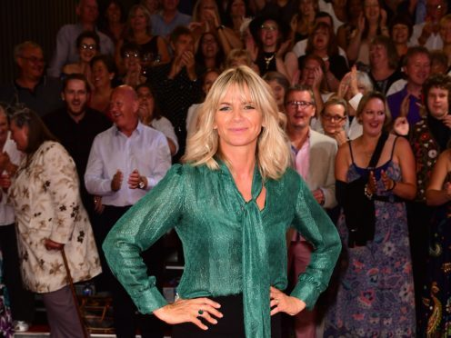 Zoe Ball is the daughter of former children's TV presenter Johnny Ball (Ian West/PA)