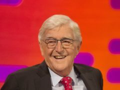 Sir Michael Parkinson during filming of the Graham Norton Show at The London Studios, south London, to be aired on BBC One on Friday evening. (Daniel Leal-Olivas/PA)