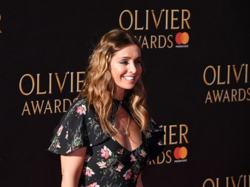 Louise Redknapp attending the Olivier Awards 2017, held at the Royal Albert Hall in London.
