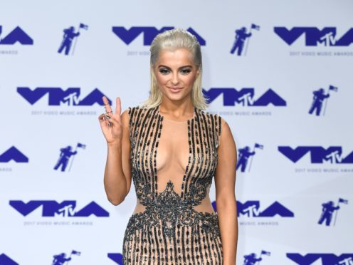 Bebe Rexha attending the 2017 MTV Video Music Awards (PA)