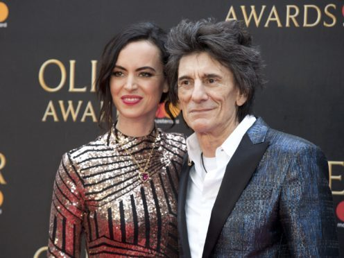 Ronnie Wood married Sally Humphreys in 2012 (Isabel Infantes/PA)
