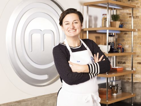 Zoe Lyons failed to impress the MasterChef judges (Shine TV/BBC)