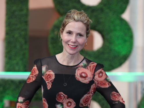 Sally Phillips: Female comedians still have to work twice as hard as men (Yui Mok/PA)