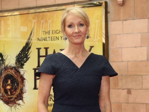 JK Rowling has defended casting an Asian actress in the role of Nagini in the latest installment in the Fantastic Beasts franchise (Yui Mok/PA)
