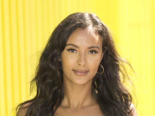 Maya Jama has said social media is both a'gift and a curse' (Isabel Infantes/PA)